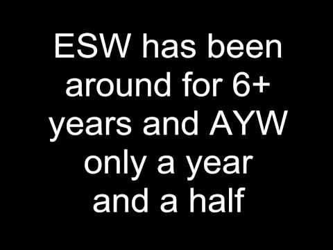 (ESW vs AYW) ESW Backyard Wrestling vs AYW Backyard Wrestling