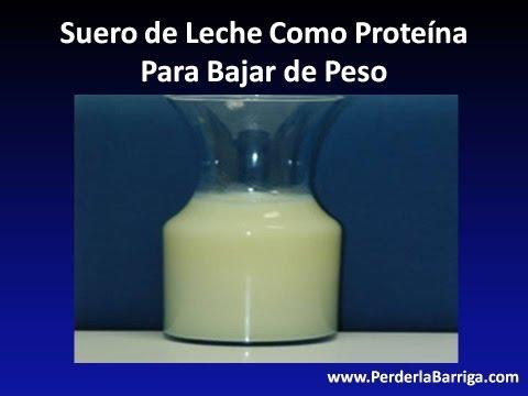 Suero de Leche Como Proteína Para Bajar de Peso
