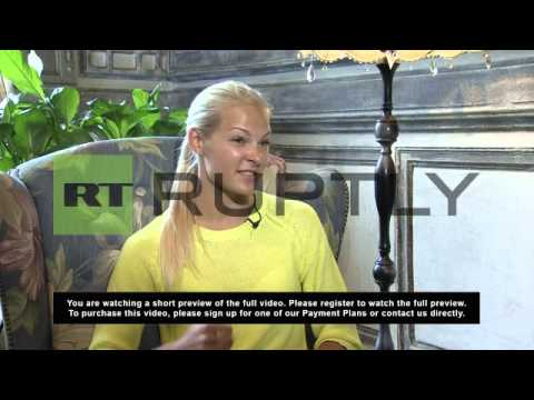 Russia: 22-year-old Klishina sets sights on world long jump record