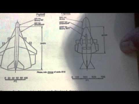 Stealth TR3B 1975 Triangular Airship predecessor Dynair Ship - Area 51 - UFO