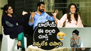 Jr NTR Making Super Hilarious Fun With Nivetha Thomas And Raashi Khanna | Jai Lava Kusa | TFPC - TFPC