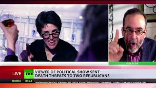 'We're losing our minds': Viewer of political show sent death threats to 2 Republicans - RUSSIATODAY