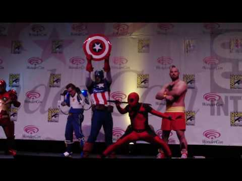 Wondercon 2010 Masquerade #33 Marvel VS Capcom 2: Maximum Pwnage (Most Humorous Award Winner)
