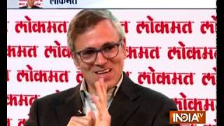 India TV- Lokmat Conclave: Exclusive Interview with Omar Abdullah - INDIATV