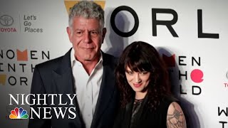 Actress Asia Argento Accused Of Sexual Assault, Agrees To Pay Accuser | NBC Nightly News - NBCNEWS