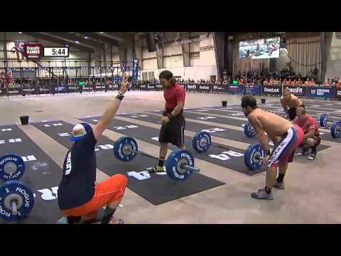CrossFit - Central East Regional Live Footage: Men's Event 7