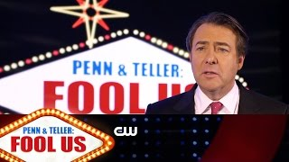Penn and Teller: Fool Us   Jonathan Ross Interview   The CW - CWTELEVISION
