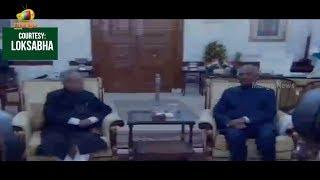 President Ram Nath Kovind And Pranab Mukherjee Entry Into Rashtrapati Bhavan | Mango News - MANGONEWS