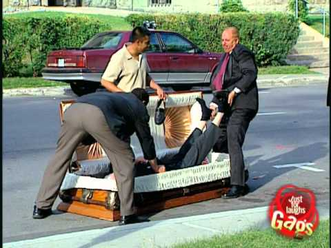 Epic Old Man - Casket Dead Man - Just For Laughs Gags