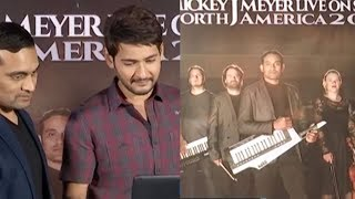 Mahesh Babu launches Mickey J Meyer's North America Tour Promo - IGTELUGU