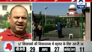 Congress, BJP MLAs answer SC questions on Delhi govt - ABPNEWSTV