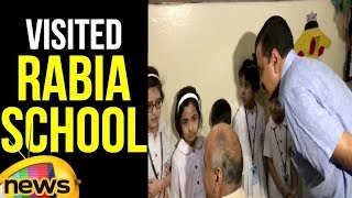 Arvind Kejriwal visited Rabia School, talking to the children | Delhi CM Latest News | Mango News - MANGONEWS