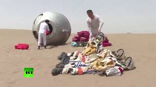 Dreaming of space? Try to survive in Chinese desert first - RUSSIATODAY