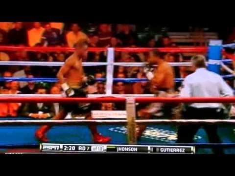 Yudel Jhonson vs Richard Gutierrez TKO part 2/2