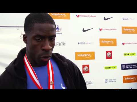 Dwain Chambers says 'Chijindu Ujah has it'' | Sainsbury's British Championships 2014 |