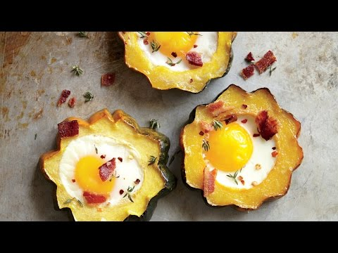 Wow! How to Make Squash Egg-in-the-Hole