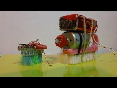 Mini Robot Casero (Como se Hace) electronic bug