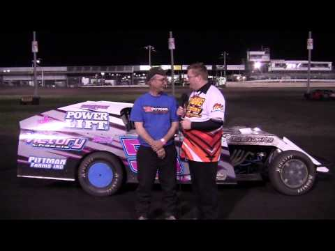 Dennis Pittman Modified Feature winner 04/19/14