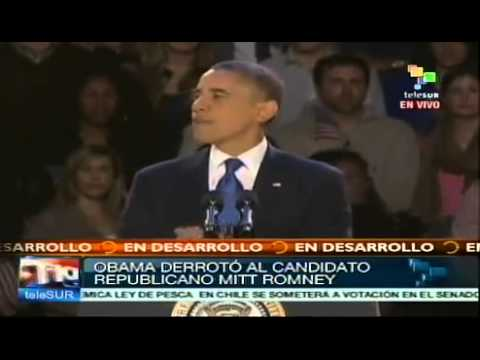 Barack Obama es reelegido presidente de EE.UU