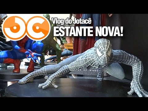 ESTANTE NOVA | VLOG DO JOTACÊ