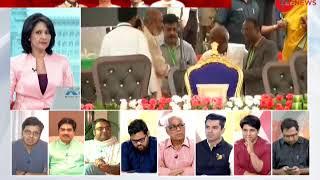 Bengaluru: BSP chief Mayawati and Akhilesh shares stage during swearing-in ceremony of Kumaraswamy - ZEENEWS