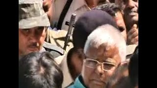 My advocates will speak, not me, says Lalu Prasad Yadav on being asked for comments - ABPNEWSTV
