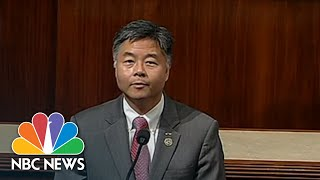 Rep. Ted Lieu Plays Audio On House Floor Of Crying Immigrant Children   NBC News - NBCNEWS
