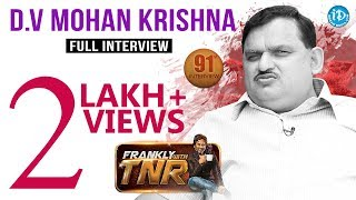 Frankly With TNR #91 - Full Interview || Talking Movies With iDream #621 - IDREAMMOVIES