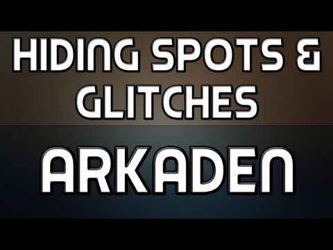 Hiding Spots + Glitches on Arkaden (MW3)