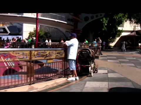 Full Walking tour of Disneyland in HD 2010 - using Steadicam Stabilizer test - Part 2 of 2