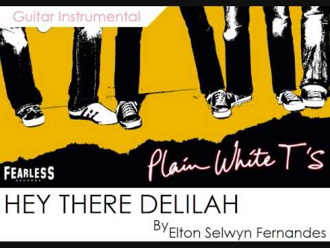 Plain White T's - Hey There Delilah (Guitar Instrumental)