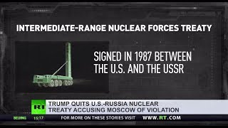 'Simply crazy': What do you think of Trump's vow to withdraw from US-Russia nuclear treaty? - RUSSIATODAY