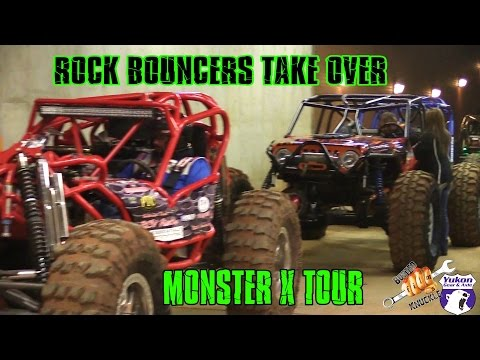 ROCK BOUNCERS TAKE OVER MONSTER X
