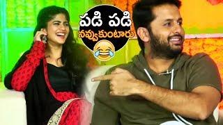 Nithin And Megha Akash Making Super Fun | #ChalMohanaRanga | TFPC - TFPC