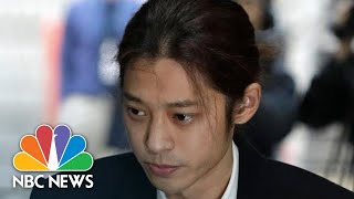 K-Pop Star Suspected Of Making Illicit Sex Tapes Apologizes For 'Unforgivable Crime' | NBC News - NBCNEWS