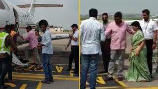 Megastar Chiranjeevi Leaves To Amaravathi For Meet YS Jagan - TFPC