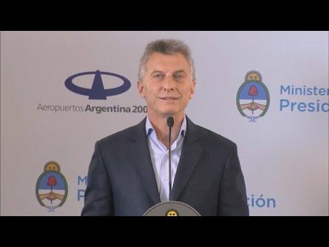 Desde Mendoza, Macri se refirió a la medida sanción en el proyecto de Ganancias