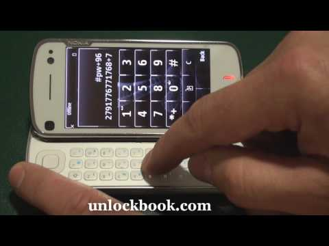 How to enter unlock code on Nokia N97
