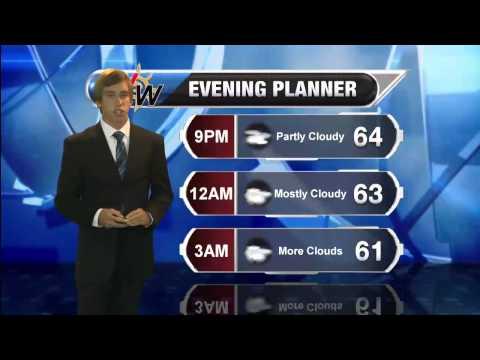 September 30th, 2014 Evening forecast