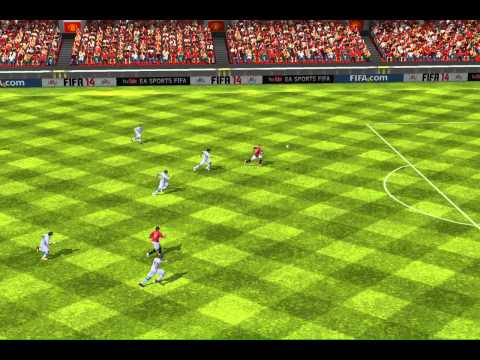 FIFA 14 iPhone/iPad - Man United vs. Zenit