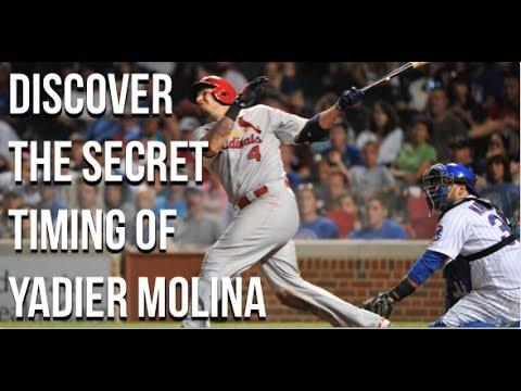 Yadier Molina bat speed sinwg analysis