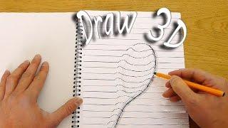 بالفيديو.. هل ترغب فى تعلم الرسم ثلاثى الأبعاد بالملعقة؟