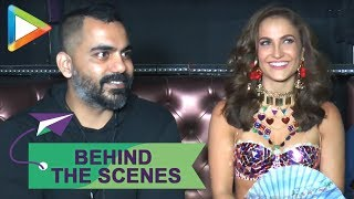 Behind The Scenes: Elli AvRam shoots for remake of iconic 90's song Chamma Chamma - HUNGAMA