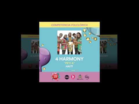 4 Harmony - Peyi a - Competencia Folclórica, representantes de Haití
