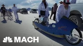 Chasing 200 MPH: One Man's Journey To Build The World's Fastest Vintage Motorcycle   Mach   NBC News - NBCNEWS
