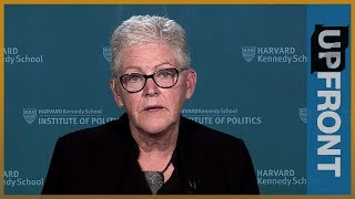 Gina McCarthy: No 'political will' for action on climate change | UpFront - ALJAZEERAENGLISH
