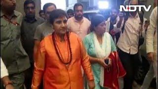 साध्वी प्रज्ञा ठाकुर को BJP ने भोपाल से दिया टिकट - NDTVINDIA