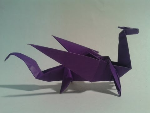 Easy Origami Dragon for Beginners