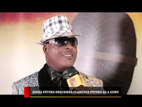HIP TV NEWS - SHINA PETERS DESCRIBES CLARENCE PETERS AS A GURU