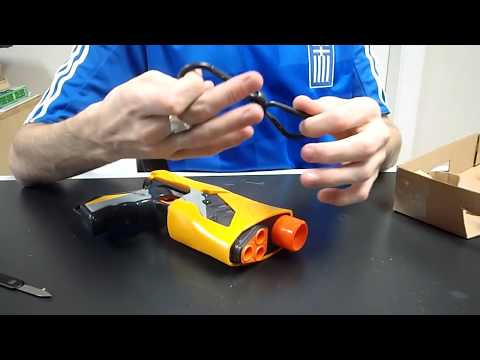New Nerf Sharp Shot Unboxing and Review